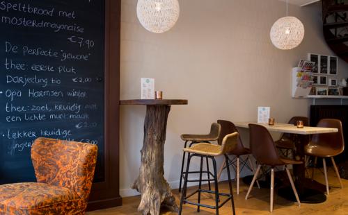 Zithoek bij Restaurant Echt in Alkmaar